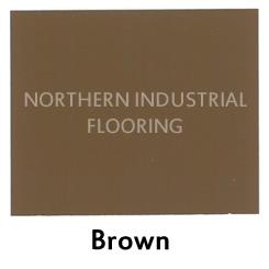 Brown color sample