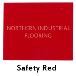 Safety Red color sample