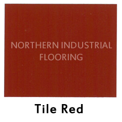 Tile Red color sample